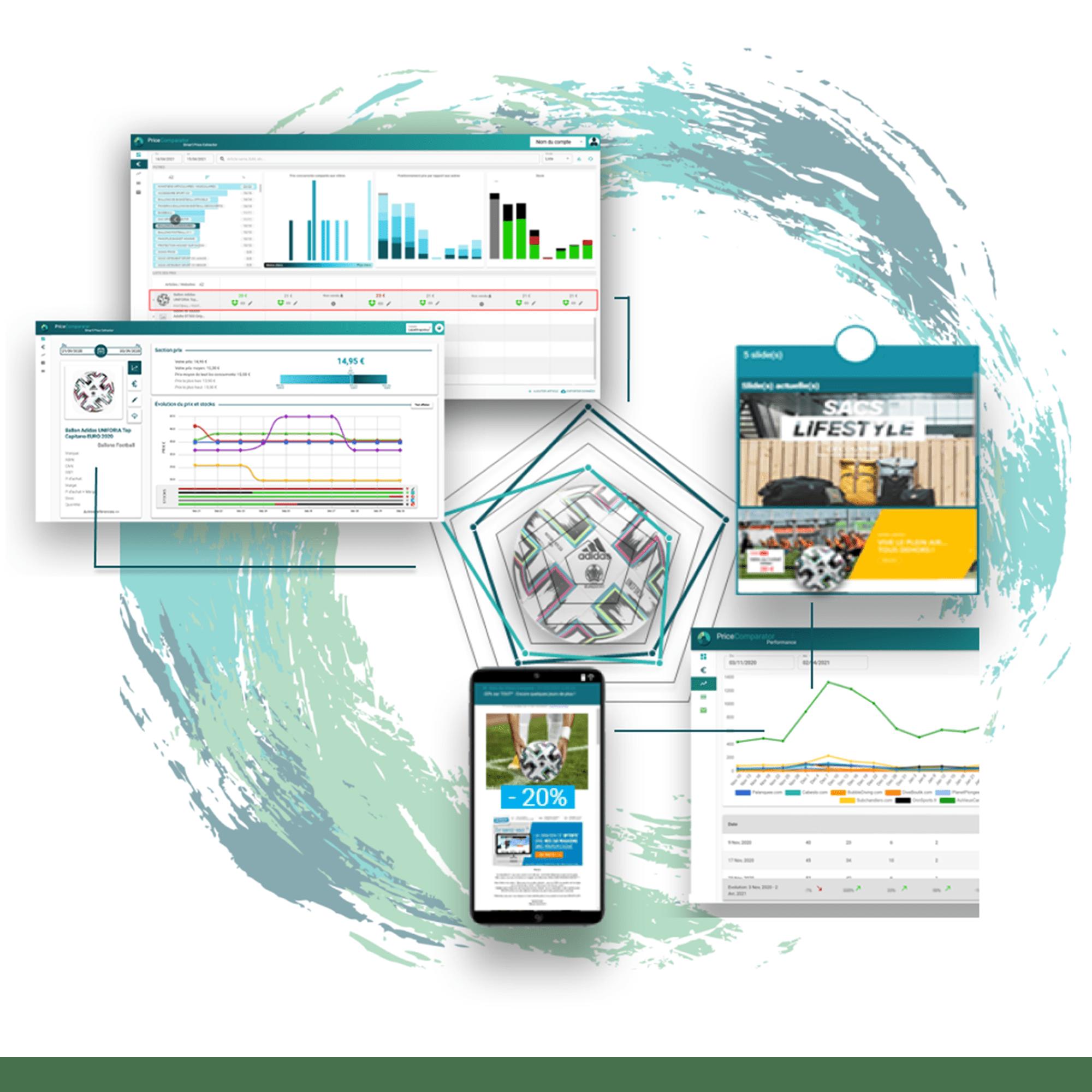 Boostez vos performances e-commerce avec l'outil de veille concurrentielle PriceComparator