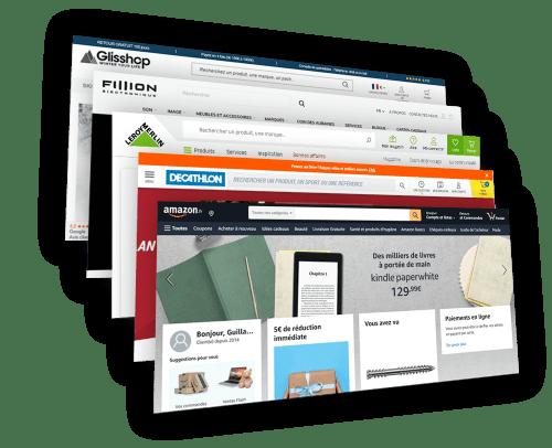 Veille des site web et Marketplaces