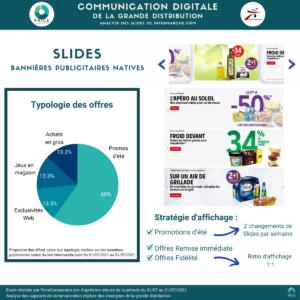 PriceComparator - Analyse des slides du site Intermarche.com (juillet 2021)